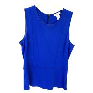 Royal blue Cache top